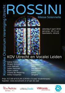 Concert flyer A5